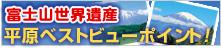 富士山世界遺産 平原ベストビューポイント